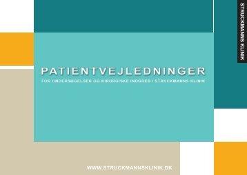 5. Varicer (åreknuder) - Struckmanns klinik