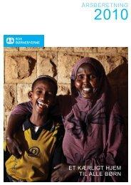 Årsberetning 2010 - SOS Børnebyerne