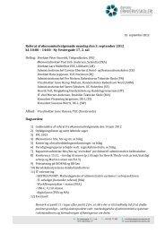 Referat af økonomiudvalgsmøde 3. september 2012 - Danske ...