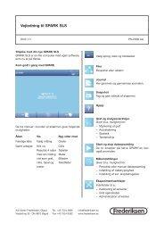 Vejledning PS-2008 kort - Frederiksen