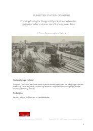 Rungsted station og remise - Landsforeningen for bygnings- og ...