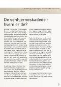 Behandling og genoptræning - Hjerneskadeforeningen - Page 5