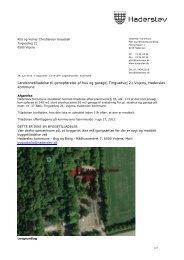 Landzonetilladelse til genopførelse af hus og garage, Tingvadvej 21 ...