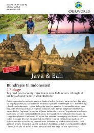 Java & Bali - OurWorld