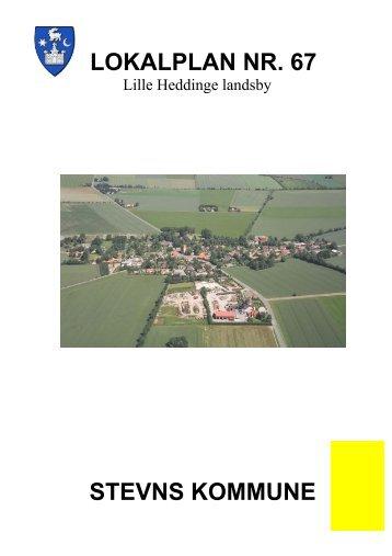 Lokalplan nr. 67, Lille Heddinge - Stevns Kommune