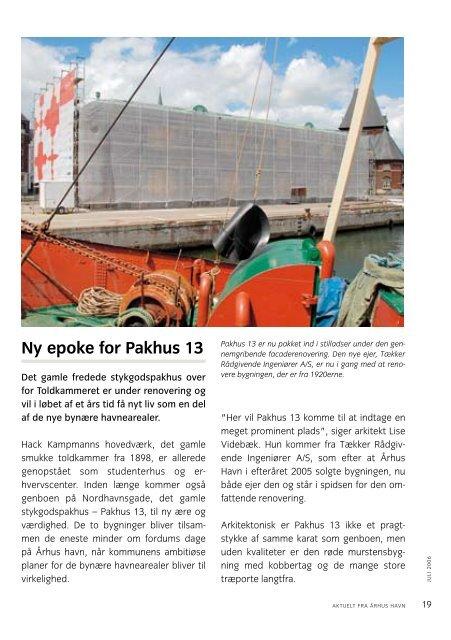 Ny epoke for Pakhus 13 - Århus Havn