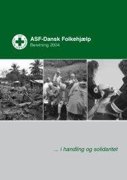 Årsberetning 2004 - Dansk Folkehjælp