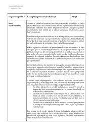 Koncept for partnerskabsaftaler - Region Midtjylland
