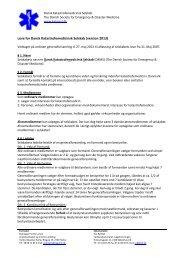 senest revideret på generalforsamlingen den 27. maj 2013. - Dansk ...
