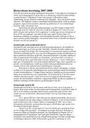 Bestyrelsens beretning 2007-2008 - Brumleby.dk