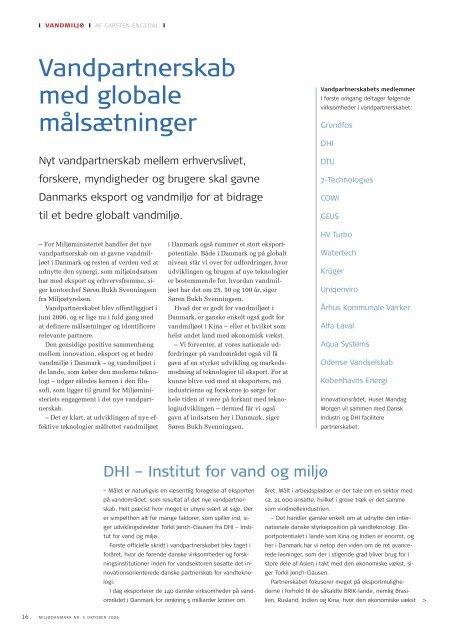 Læs side 16-18 i MiljøDanmark nr 5 2006 - Miljøministeriet