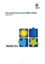 MED aftale for Herning kommune 2012 incl. bilag - OAO