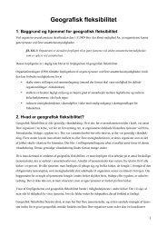 Geografisk fleksibilitet - Organistforeningen