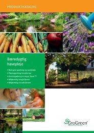 Bæredygtig havepleje - E. Marker A/S