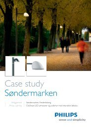 Case study Søndermarken - Philips Lighting