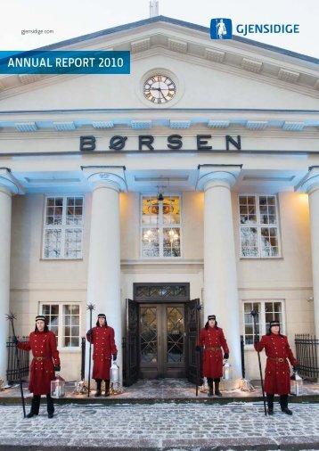 ANNUAL REPORT 2010 - Cision