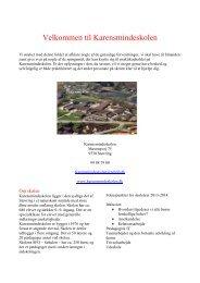Praktiske informationer i forbindelse med praktikopholdet