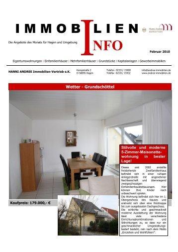 NFO Februar 2010 - Hanni Andree Immobilien in Hagen