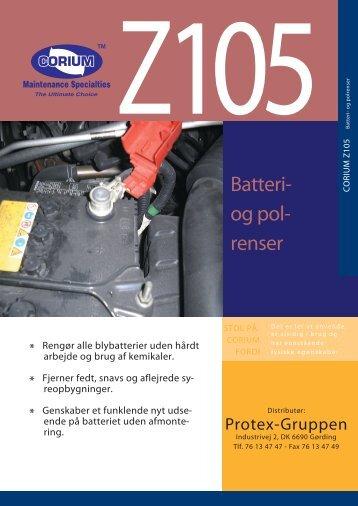 Batteri- og pol- renser