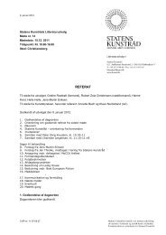 Referat af møde i Statens Kunstråds Litteraturudvalg d. 15 ... - Kunst.dk