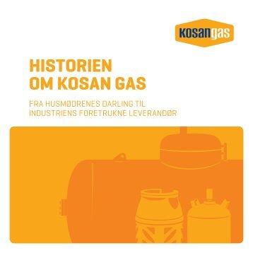 historiefolder - Kosan Gas