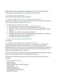 Referat fra konstituerende bestyrelsesmøde 27/2 2011