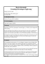 Referat af mødet den 3. marts 2008 - G/F Fuglevang