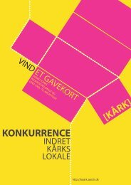 KONKURRENCE [KÅRK] - Rum - Arkitektskolen Aarhus