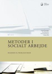 METODER I SOCIALT ARBEJDE - SFI