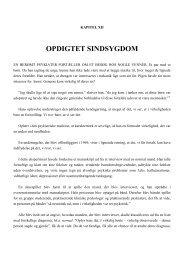 Kapitel 12: Opdigtet sindsygdom - MMK