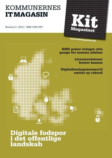 Læs hele artiklen som pdf her (s. 29) - Westergaard CSM