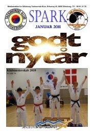 Spark januar 2011.pub - Silkeborg Taekwondo Klub