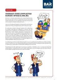 Se en oversigt over lovpligtige kurser i Bygge & Anlæg - BAR Bygge ...