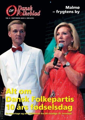 Alt om Dansk Folkepartis 10 års fødselsdag Alt om Dansk ...