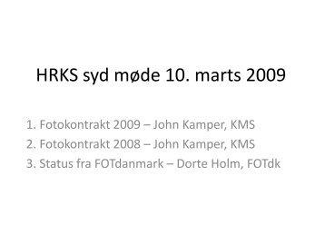 Præsentationer - HRKS