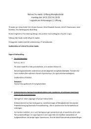 Referat fra møde i Ulfborg Menighedsråd mandag ... - Ulfborg Sogn