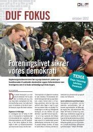 Foreningslivet sikrer vores demokrati - Dansk Ungdoms Fællesråd