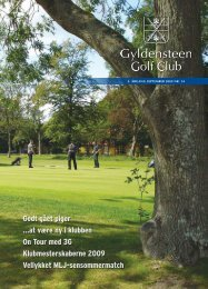 Godt gået piger - Gyldensteen Golf Club