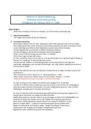 Generalforsamling 2012 - Nysted Bådelaug