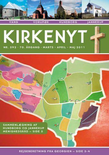 Kirkeblad 592 Februar - Juni 2011 - Hundborg kirke