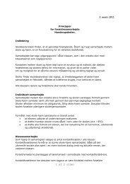 Principper for skole-hjemsamarbejde marts 2012 - Hunderupskolen