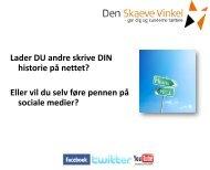 sociale medier / facebook?