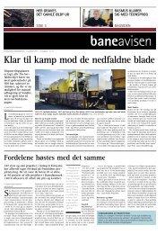 Klar til kamp mod de nedfaldne blade - Banedanmark