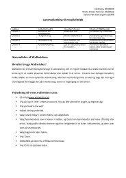 Lærervejledning til novelleforløb Anvendelse af ... - it-vejlederkursus