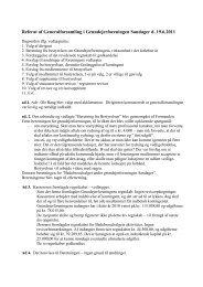 Referat af Generalforsamling i Grundejerforeningen Sandager d ...