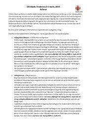 Referat fra DIS mødet i Fredericia - 7. Gilde