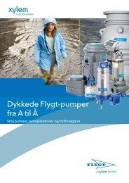 Dykkede Flygt-pumper fra A til Å - Water Solutions