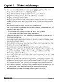 Kapitel 6 Introduktion til Kontrolpanel - Lumens - Page 5