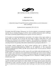 EU-direktiv om ret til information under straffesager - Retspolitisk ...