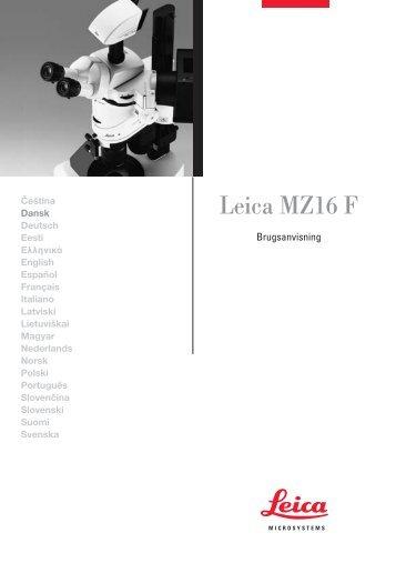 Leica MZ16 F - Leica Microsystems